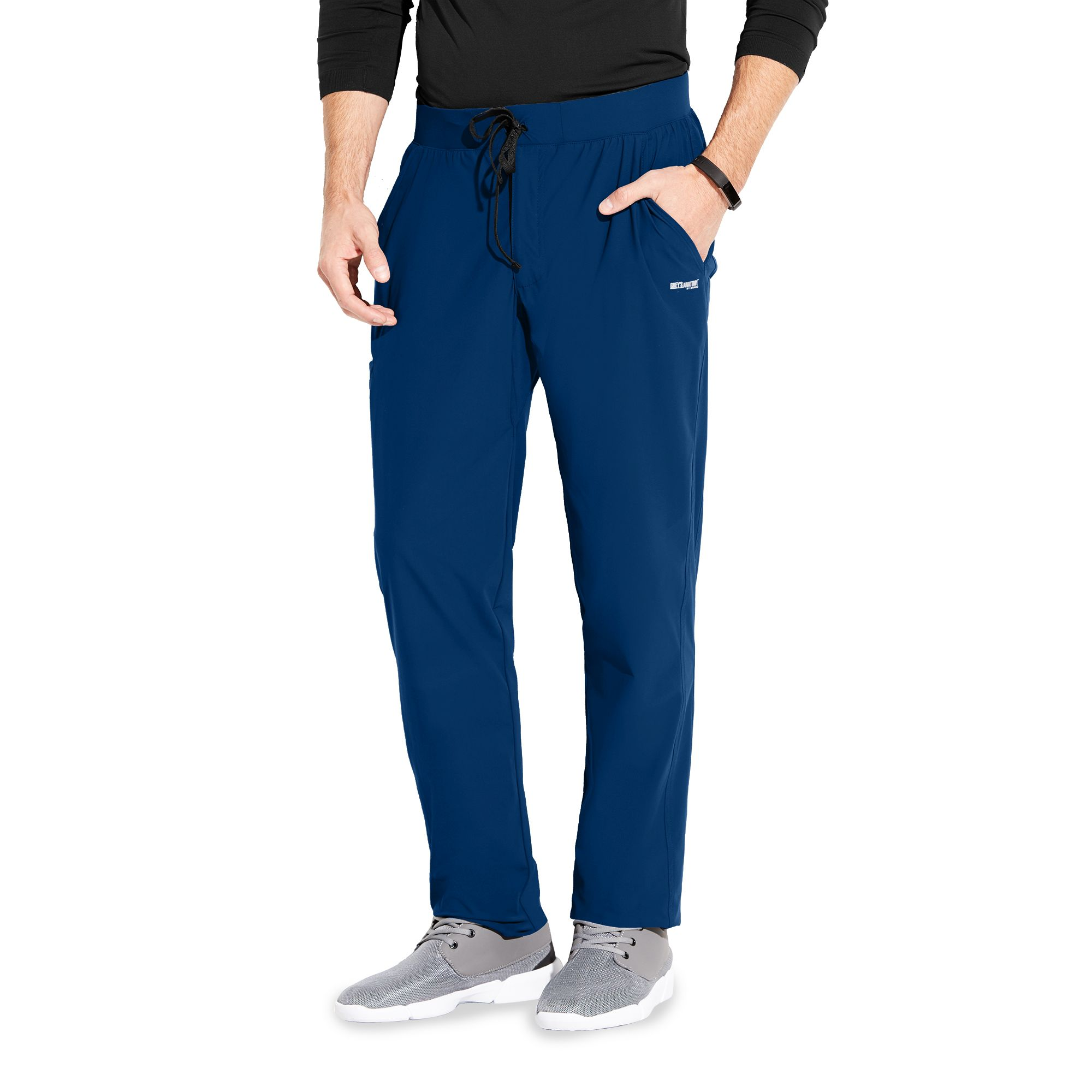 EDGE - NEW Men's 4 Pocket Gusset Pant-Greys Anatomy Edge