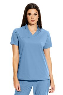 EDGE - Polo Style Scrub Top-Greys Anatomy Edge