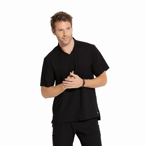 M3pkt Polo Collar Top-