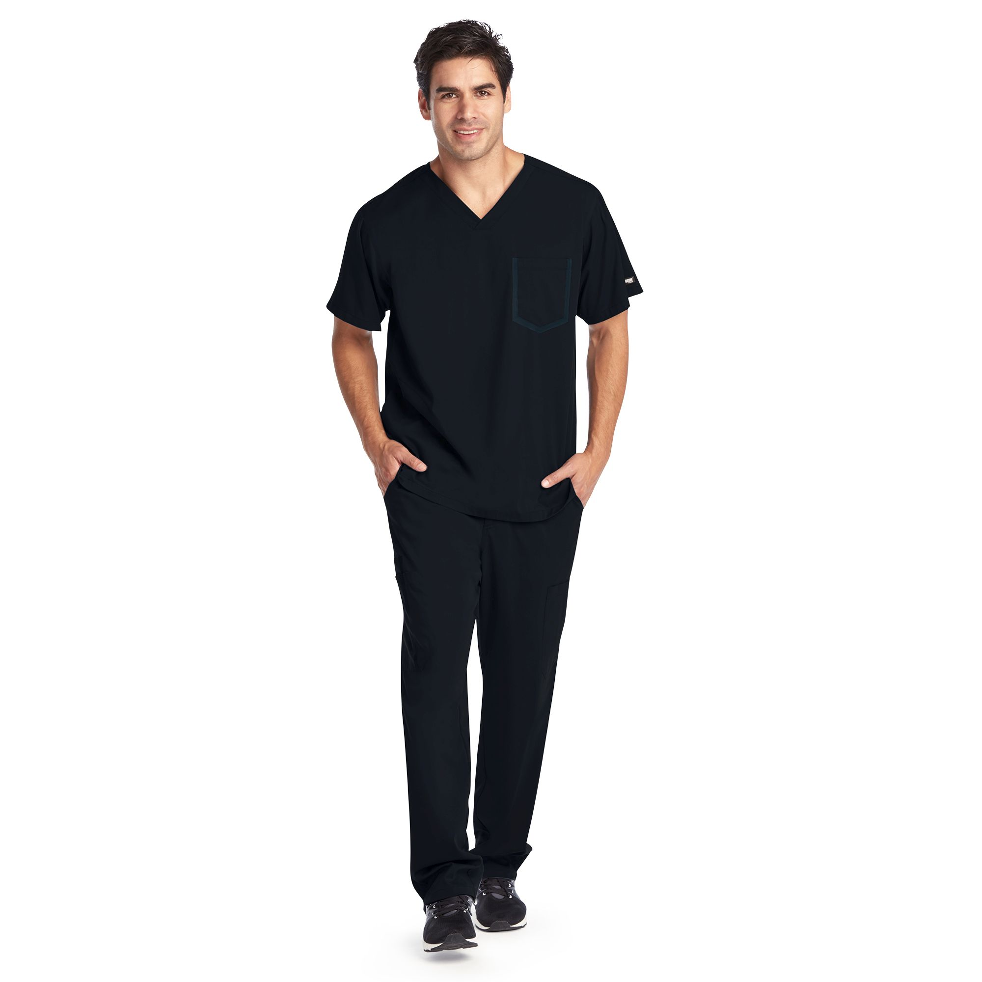 Impact Men's 3 Pocket V Neck - 0118-Greys Anatomy Impact