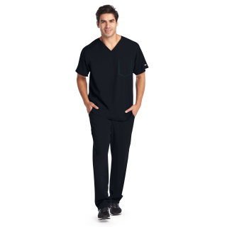 0118 Men's 3 Pocket V Neck by Grey's Anatomy Impact - Ascend