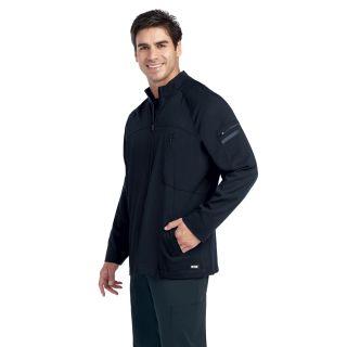 0918 Men's 4 Pocket Zip Front Jacket by Grey's Anatomy Impact - Ascend