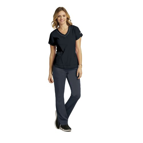 3pkt Seamed V-Neck-