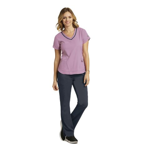7187 Ladies V Neck Top by Grey's Anatomy Impact - Harmony-Greys Anatomy Impact