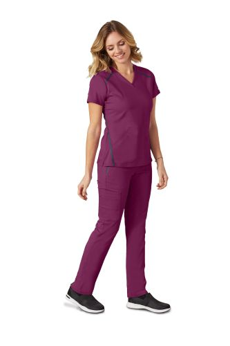 Impact 3 Pocket Cross Over Top by Grey's Anatomy - 7188-Greys Anatomy Impact