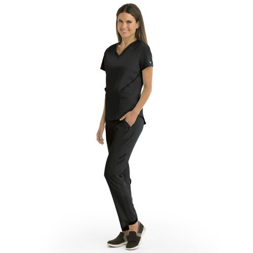 4pkt Elastic Vnk B-Tape Top-Greys Anatomy Impact