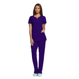 2121 Ladies 2 Pocket Stretch Top by Grey's Anatomy Signature
