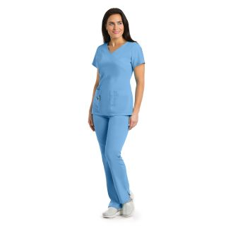 2130 Ladies 3 Pocket Mock Wrap  by Grey's Signature