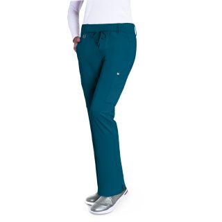 2218 Ladies 6 Pocket Double Cargo Mid-rise Pant by Grey's Signature - Olivia