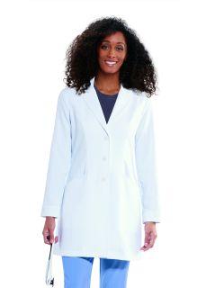 "Signature LAB Stretch 34"" Women's 2 Pocket Lab Coat GNC001-Greys Anatomy Signature"