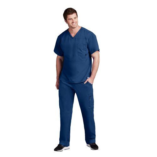 Active Men's 2 Pocket V-Neck - 0116-Greys Anatomy Active