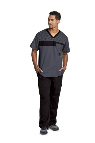 Active Men's Printed V Neck - 0117-Greys Anatomy Active