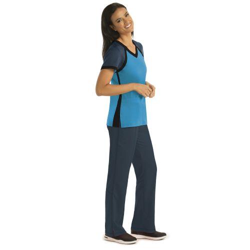 3pkt Raglan Scuba V-Neck-Greys Anatomy Active