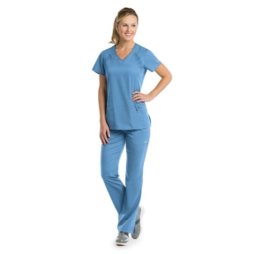 Grey's Anatomy Active Women's Raglan Sleeve Scrub Top-
