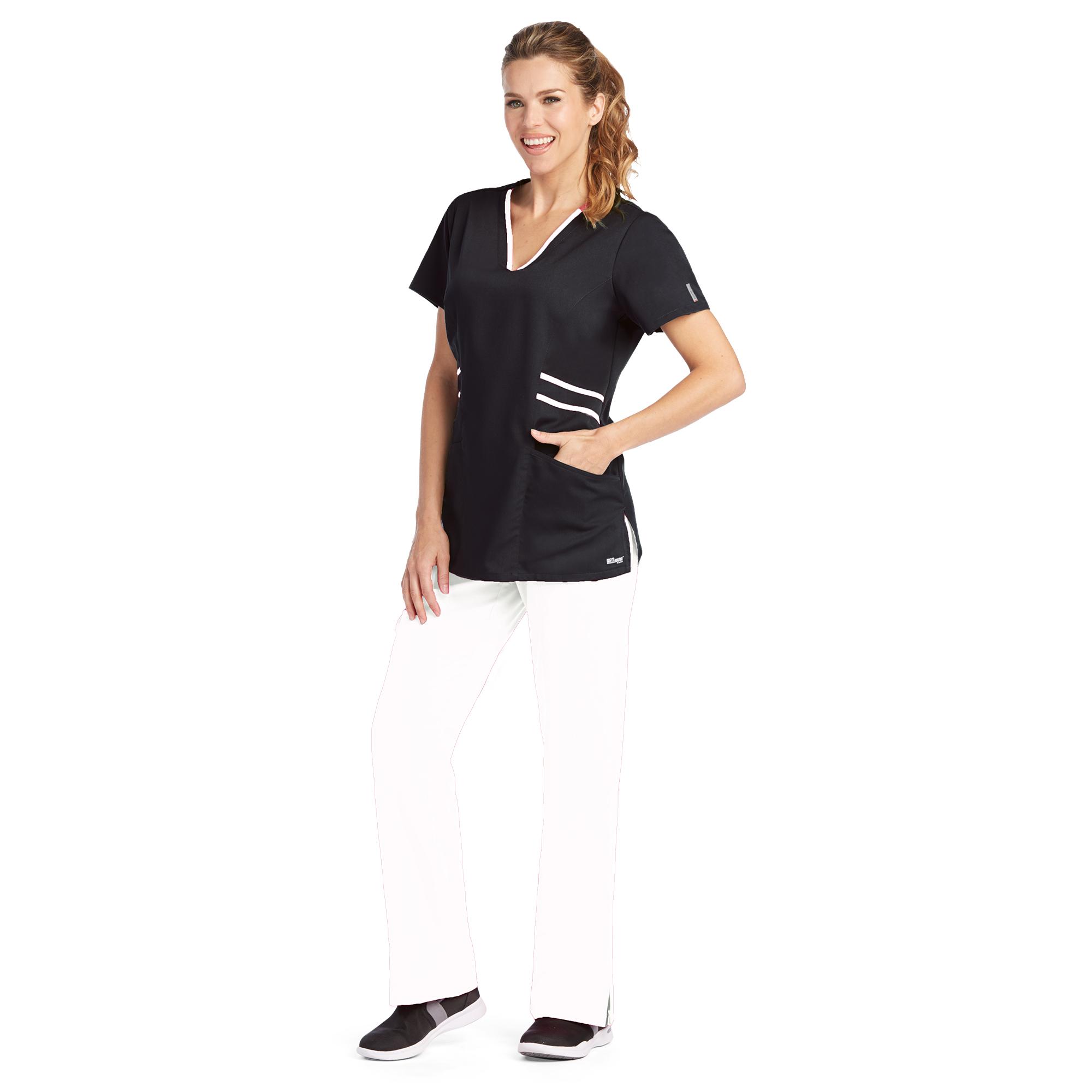 Buy 3 Pocket Stylized Contrast V -Nk - Greys Anatomy Active Online ...