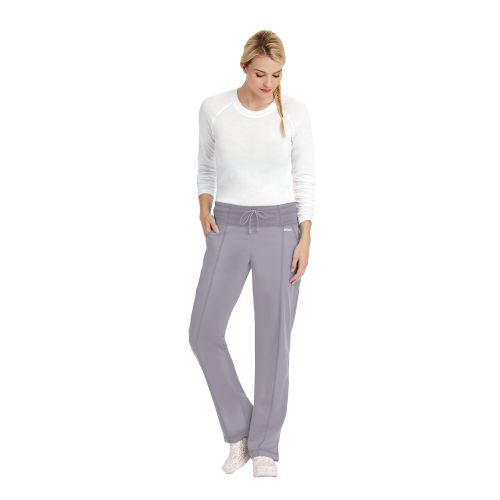 4pkt Low Rise Yoga Waist Pant-Greys Anatomy Active