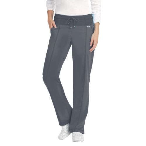 Active Yoga Knit 4 pocket Low Rise Wide Waist Pant - 4276-Greys Anatomy Active