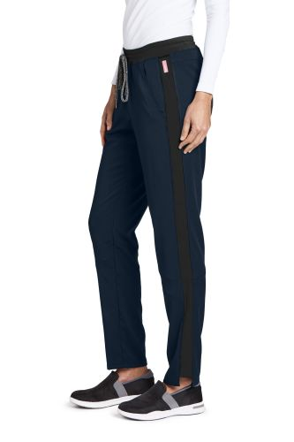 3pkt Cntrst Knitwst Cargo Pant-