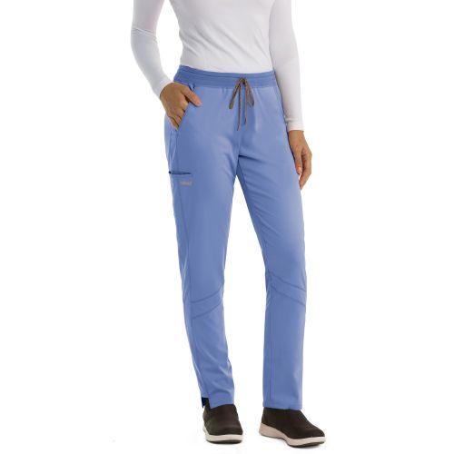 Active 4 Pocket Knit Waist Cargo Pants - GVSP509-Greys Anatomy Active