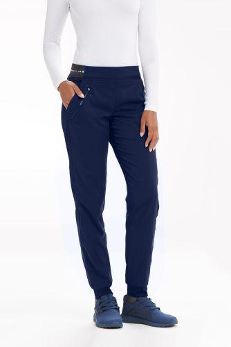 3pkt Logo Knit Waist Jogger-Greys Anatomy Active