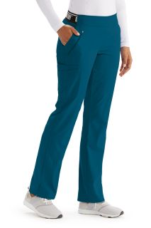 Active 5 Pocket Boot Leg Stretch Pant by Grey's Anatomy-Greys Anatomy Active