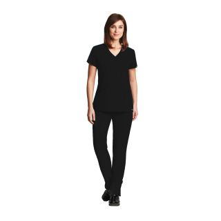 3 Pocket Lapover V-Neck
