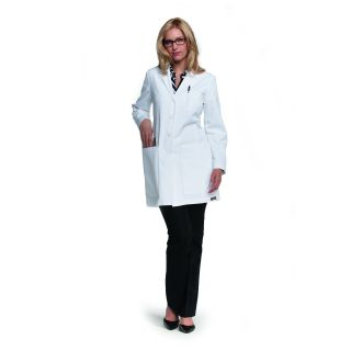 "Junior 34"" Princess Line Lab Coat W/ Tablet Pockets"