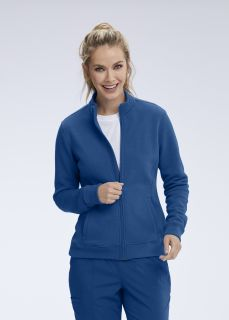 Motion NEW Ariel 2 Pocket Zip Front Jacket by Grey's Anatomy MOJ002-Motion By Barco