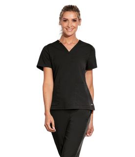 3 pocket Notched Lap Over V-Neck-Motion By Barco