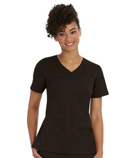 4 Pocket V-Neck Front Back Yoke