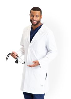 "Men 4pkt Cb 38"" Lab Coat-"