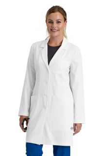 "Women 4pkt Cb 34"" Lab Coat-"