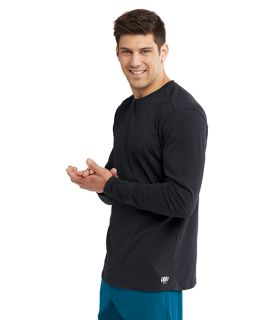 Skechers Men's Long Sleeve Knit Tee - SKK002-Skechers