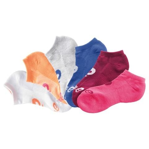 6pr pack Asics No Show Sock-Asics