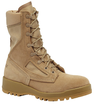 Hot Weather Tan Flight & Combat Vehicle Boot-Belleville Shoe