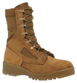 Hot Weather Steel Toe Combat Boot-Belleville Shoe
