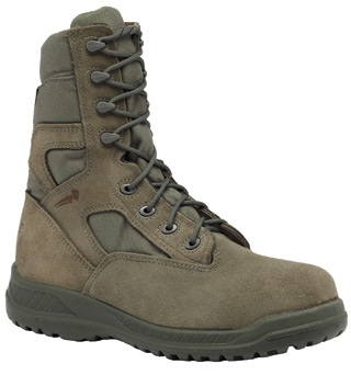 Hot Weather Tactical Side Zipper Boot - USAF-Belleville Shoe