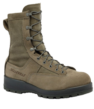 Cold Weather 600g Insulated Safety Toe Boot - USAF-Belleville Shoe
