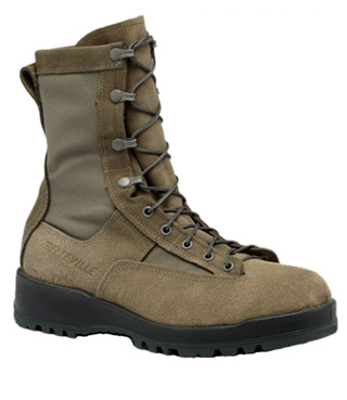 Waterproof Sage Green Flight Boot - USAF-Belleville Shoe