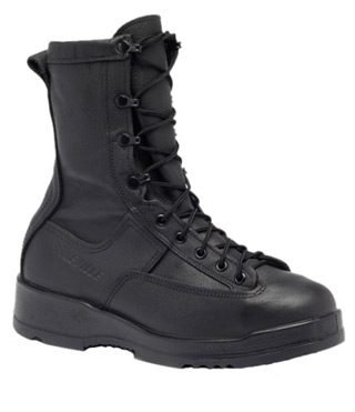 Waterproof Black Safety Toe Flight & Flight Deck Boot-Belleville Shoe