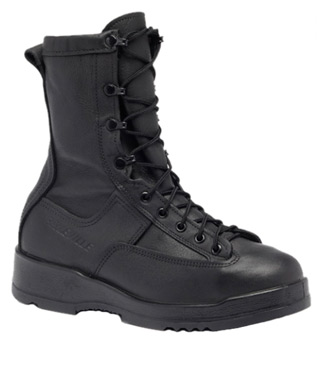 Waterproof Black Insulated Safety Toe Boot-Belleville Shoe