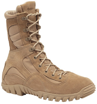 Hot Weather Hybrid Assault Boot-Belleville Shoe