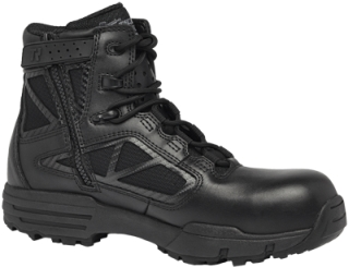 "6"" Hot Weather Side Zip Composite Toe Boot-Belleville Shoe"
