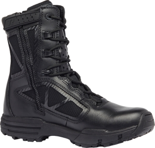 "8"" Hot Weather Side Zip Boot-Belleville Shoe"