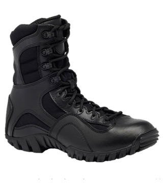 Hot Weather Lightweight Waterproof Side-Zip Tactical Boot-Belleville Shoe