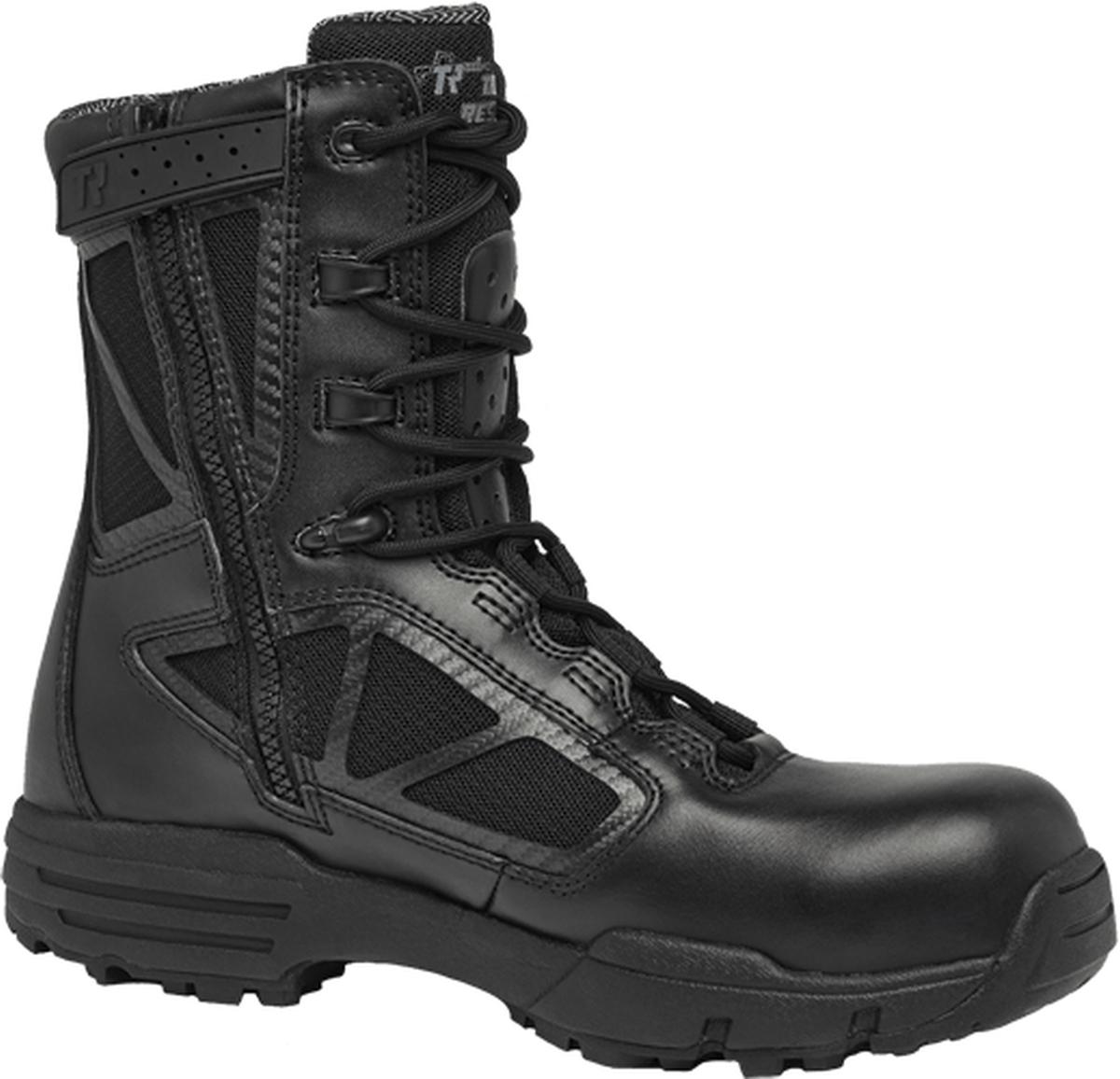 """8"""" Waterproof Side-Zip Composite Toe Boot-Belleville Shoe"""