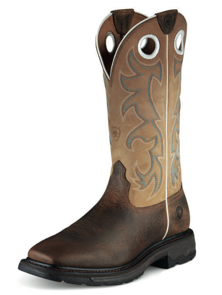 Ariat Workhog Wide Square Toe Tall (Steel Toe)