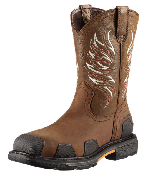 Ariat Overdrive Western Pull On (Steel Toe)