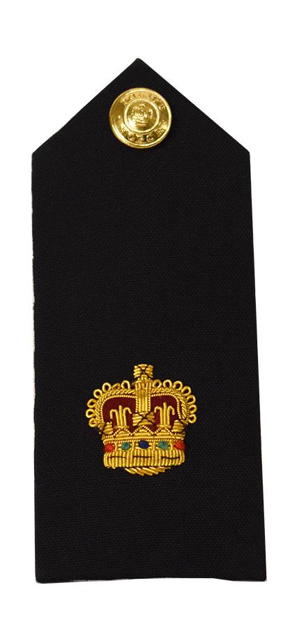 Crown Shoulder Board-Derks Uniforms