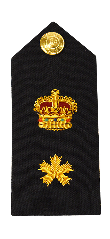 Crown & Bullion Shoulder Board-Derks Uniforms